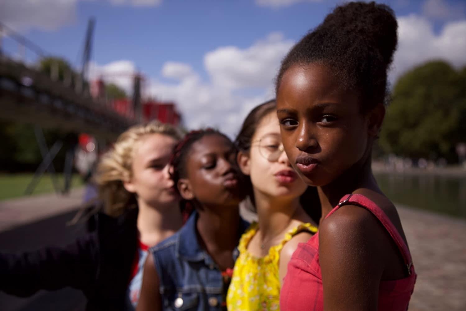 الفتيات الأربع في فيلم cuties