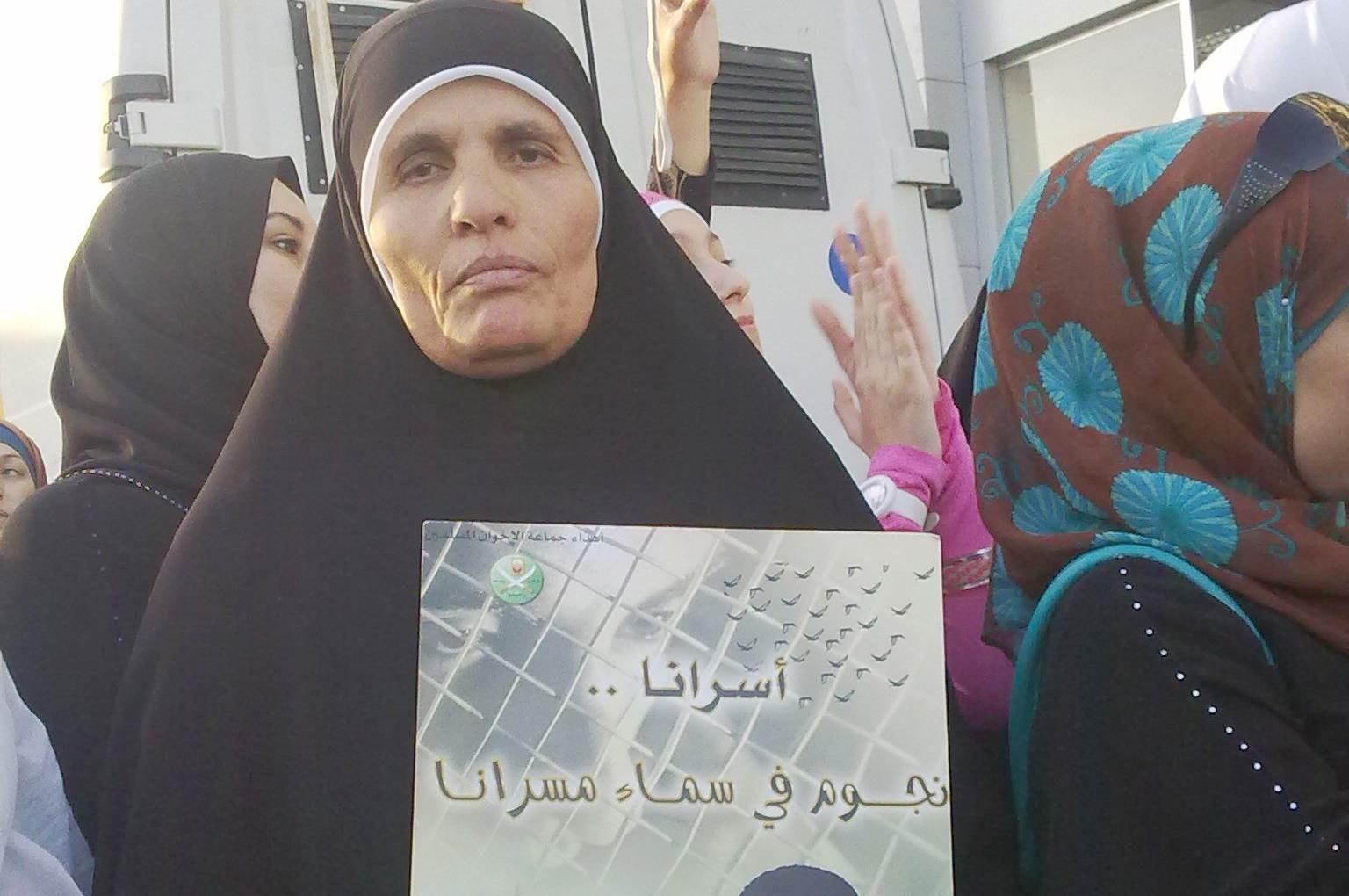 والدة الأسير الأردني مرعي أبو سعيدة