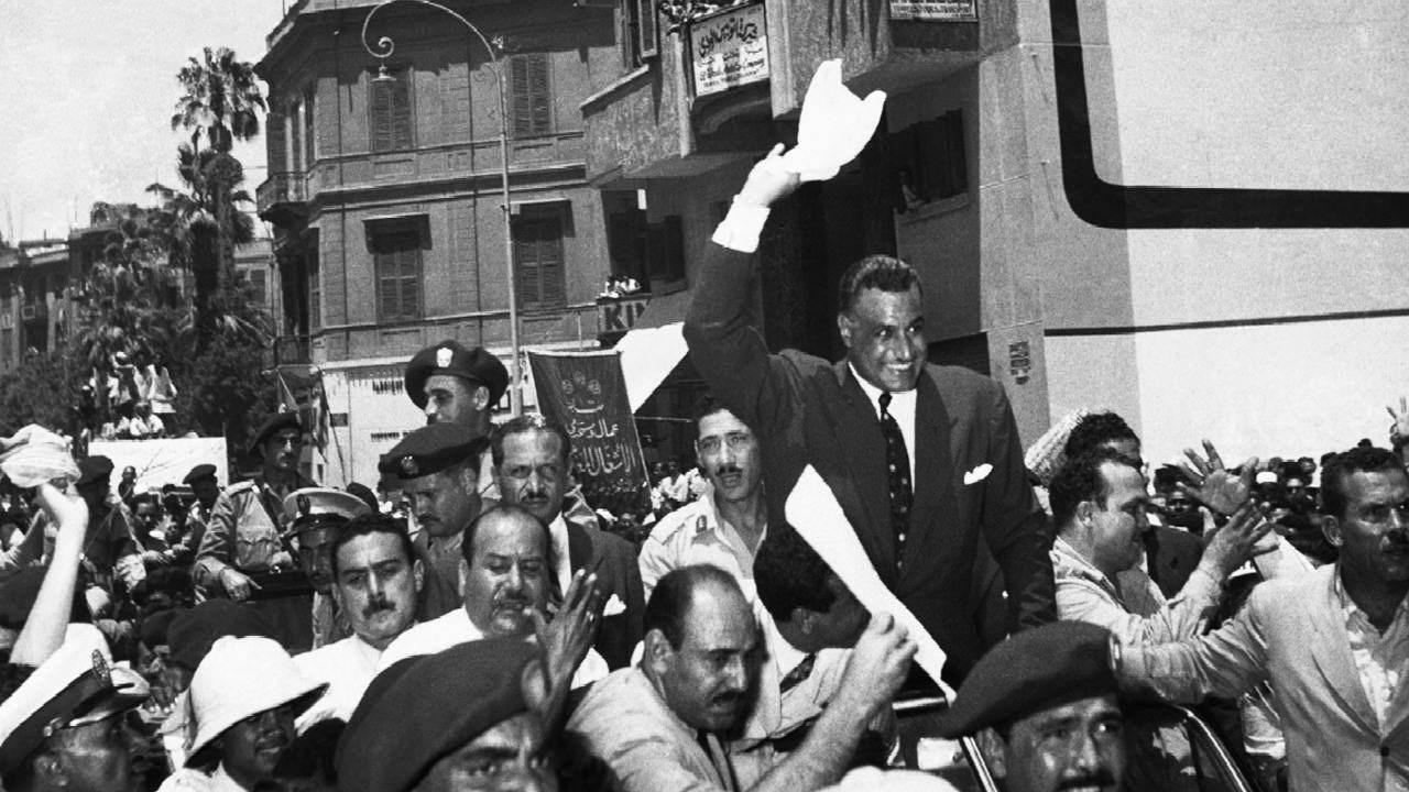 دعم عبدالناصر فكرة تأسيس منظمة التحرير الفلسطينية لتكون إطاراً سياسياً للشعب الفلسطيني
