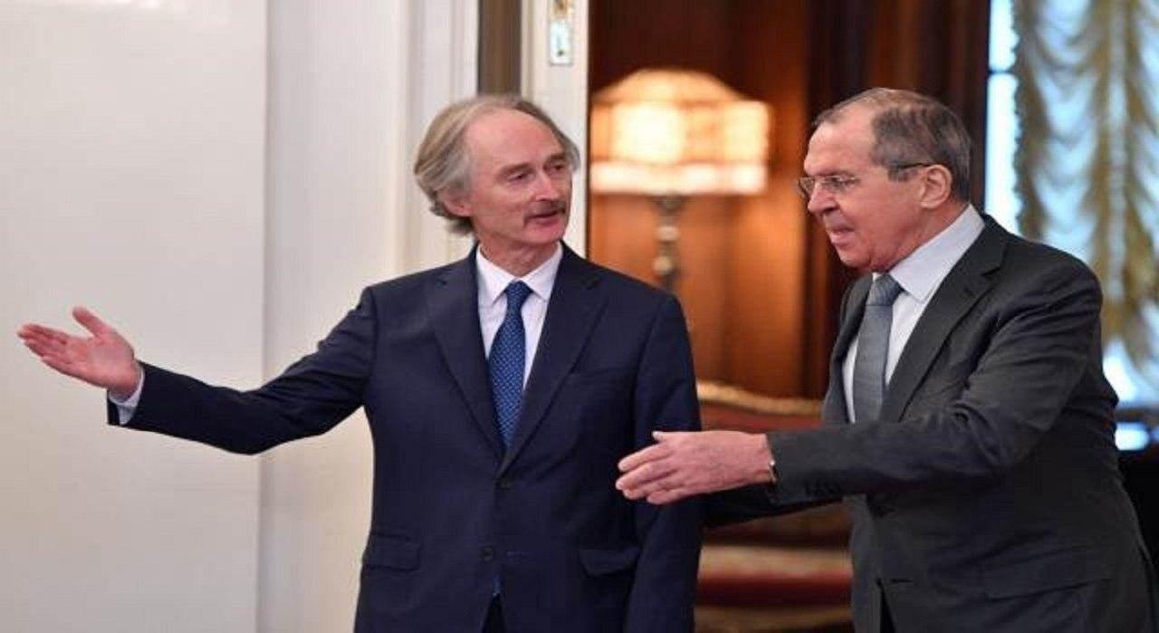 لافروف: بيدرسون شكر موسكو على دعمها الدائم والمتواصل لجهود الأمم المتحدة