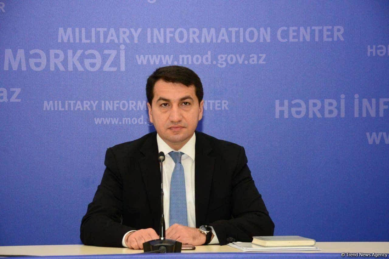 المستشار السياسي للرئيس الأذربيجاني حكمت حاجييف.