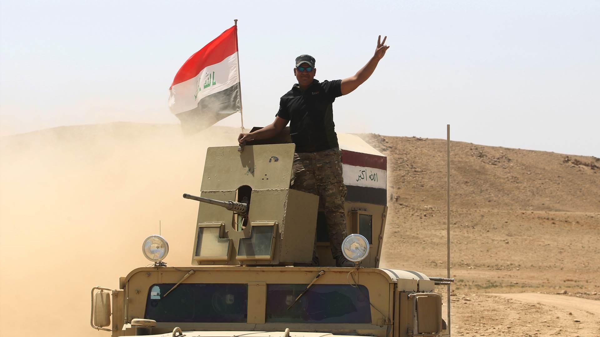 وجهت طائرات السوخوي العراقية ضربتين جويتين على هدفين في قاطع عمليات صلاح الدين