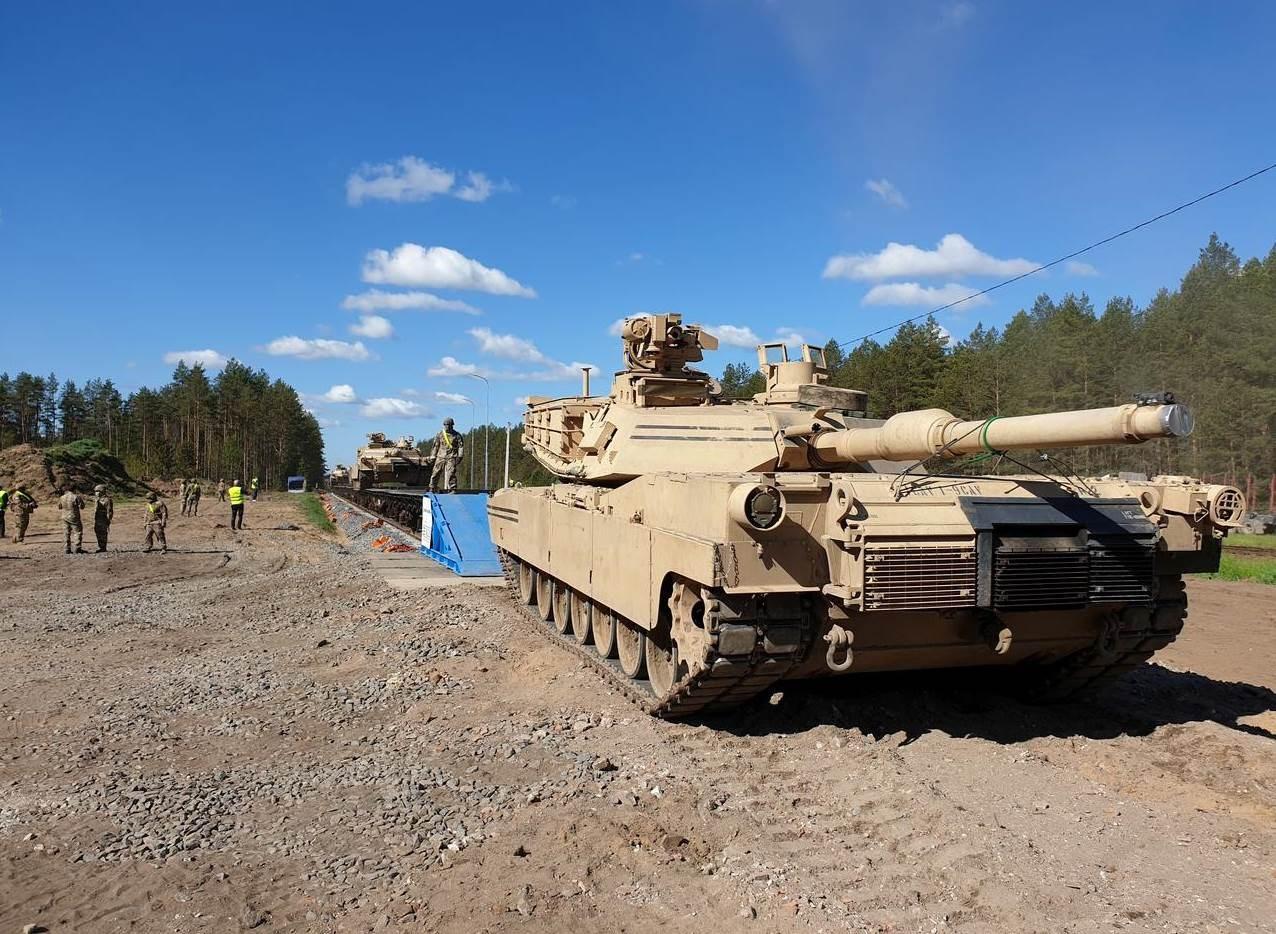 طلائع القوات البرية الأميركية تصل إلى ليتوانيا للمشاركة بتدريبات
