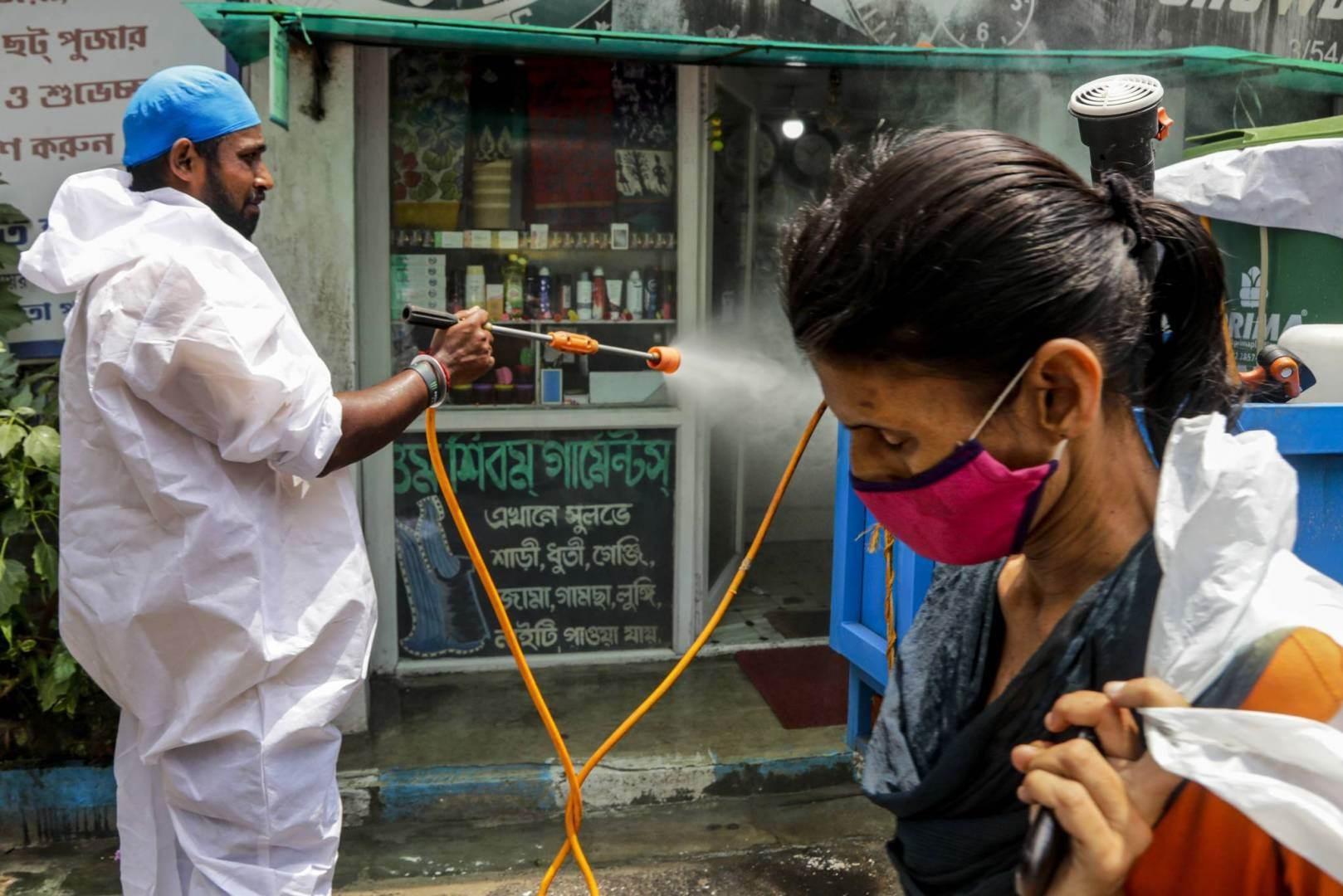 الهند أصبحت ثالث دولة تتجاوز عتبة 4 ملايين إصابة بكورونا
