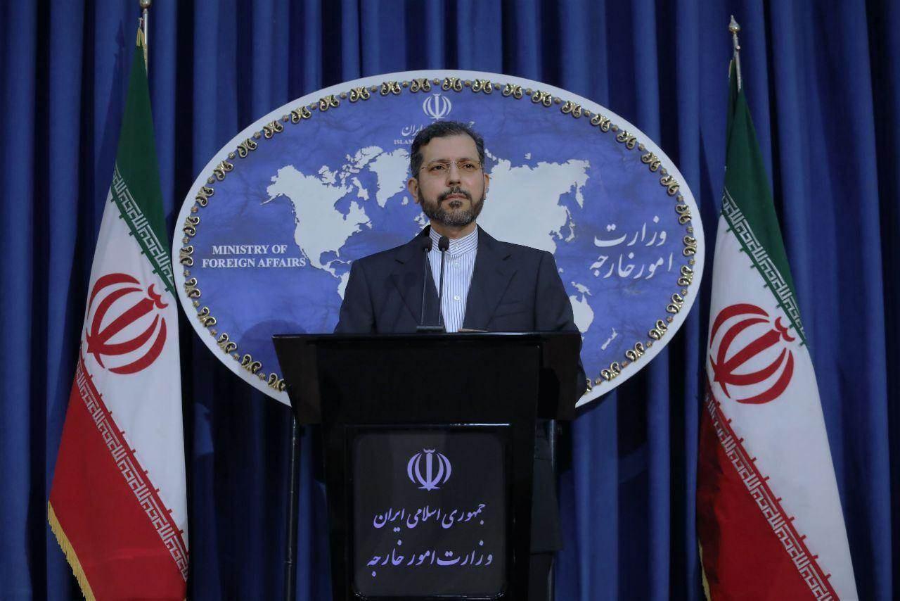المتحدث باسم الخارجية الإيرانية سعيد خطيب زادة.