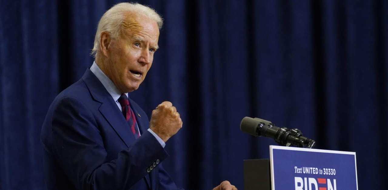 المرشح الديمقراطي لانتخابات الرئاسة الأميركية جو بايدن