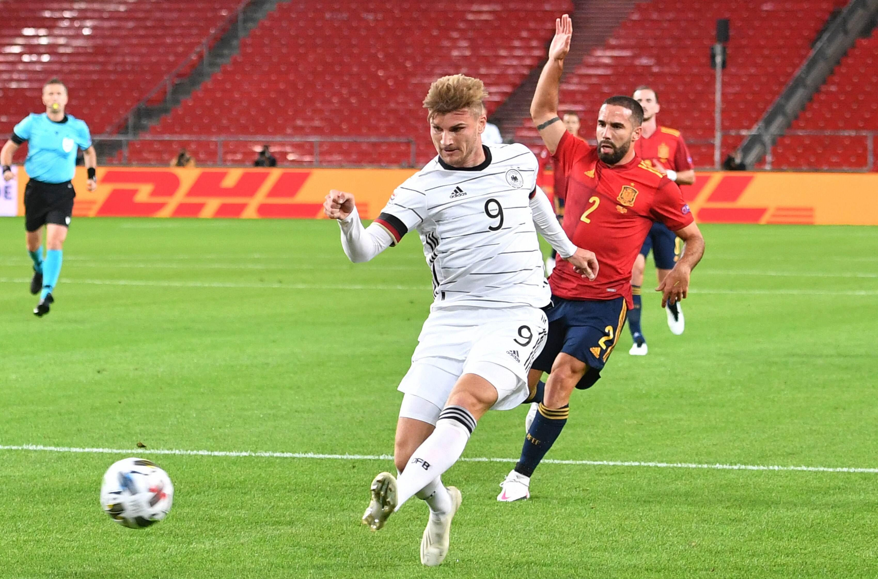 تعادل منتخبا ألمانيا وإسبانيا 1-1 في مباراتهما الأولى