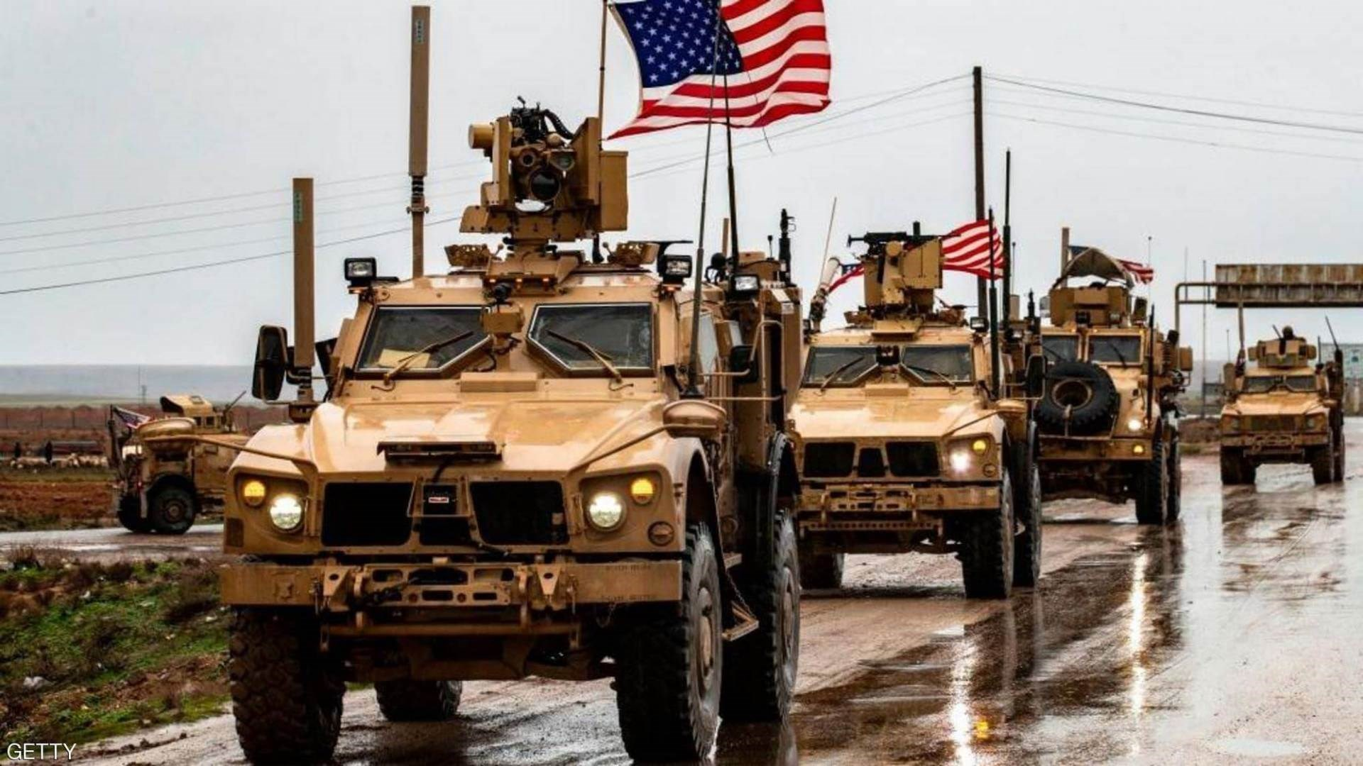 الرتل اللوجستي الأميركي كان على أوتوستراد الشعلة في بغداد
