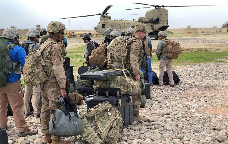 هجوم ثان بالعبوات على رتل دعم لوجستي يتبع للتحالف الأميركي في منطقة الشعلة شمال العاصمة بغداد