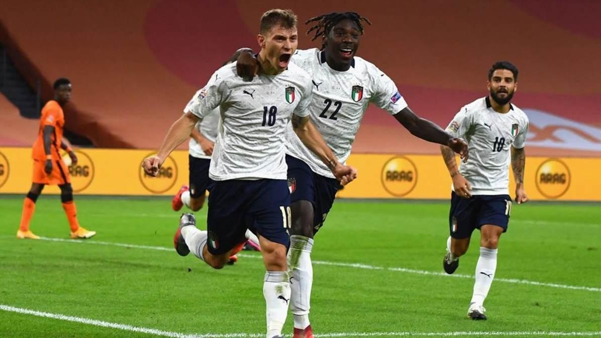 كان أداء المنتخب الإيطالي أمام هولندا في غاية الروعة