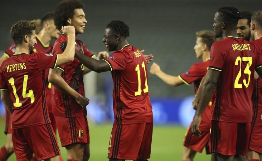 فازت بلجيكا على أيسلندا 5-1