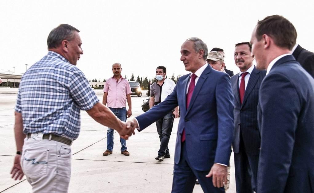 الفريق الروسي الاقتصادي زار دمشق برئاسة نائب رئيس الوزراء يوري بوريسوف (أ ف ب - أرشيف)