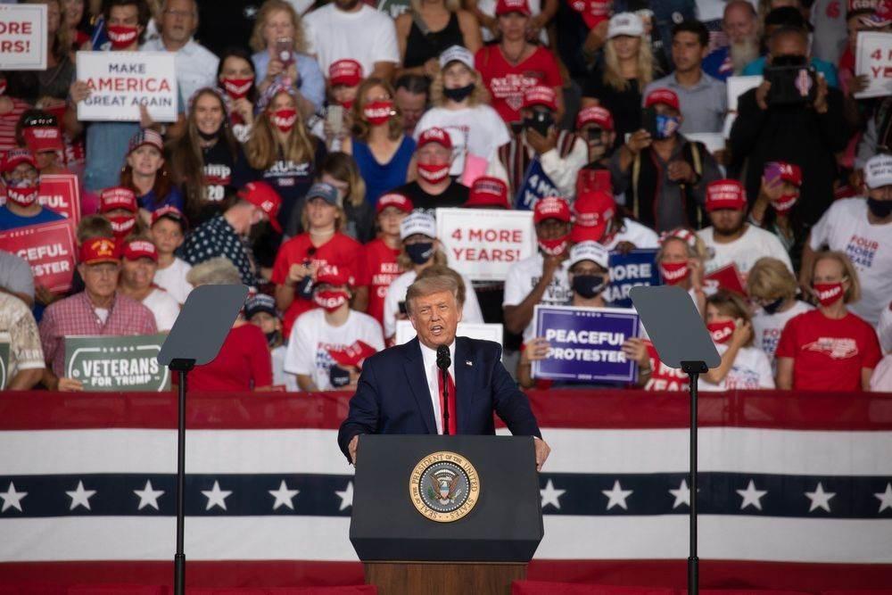 ترامب: الاقتصاد الأميركي سينهار إذا تولى جو بايدن الرئاسة في البلاد