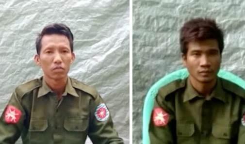 الجنديان من ميانمار اللذان اعترفا علناً بتلقيهم أوامر بالإبادة الجماعية لمسلمي الروهينغا.
