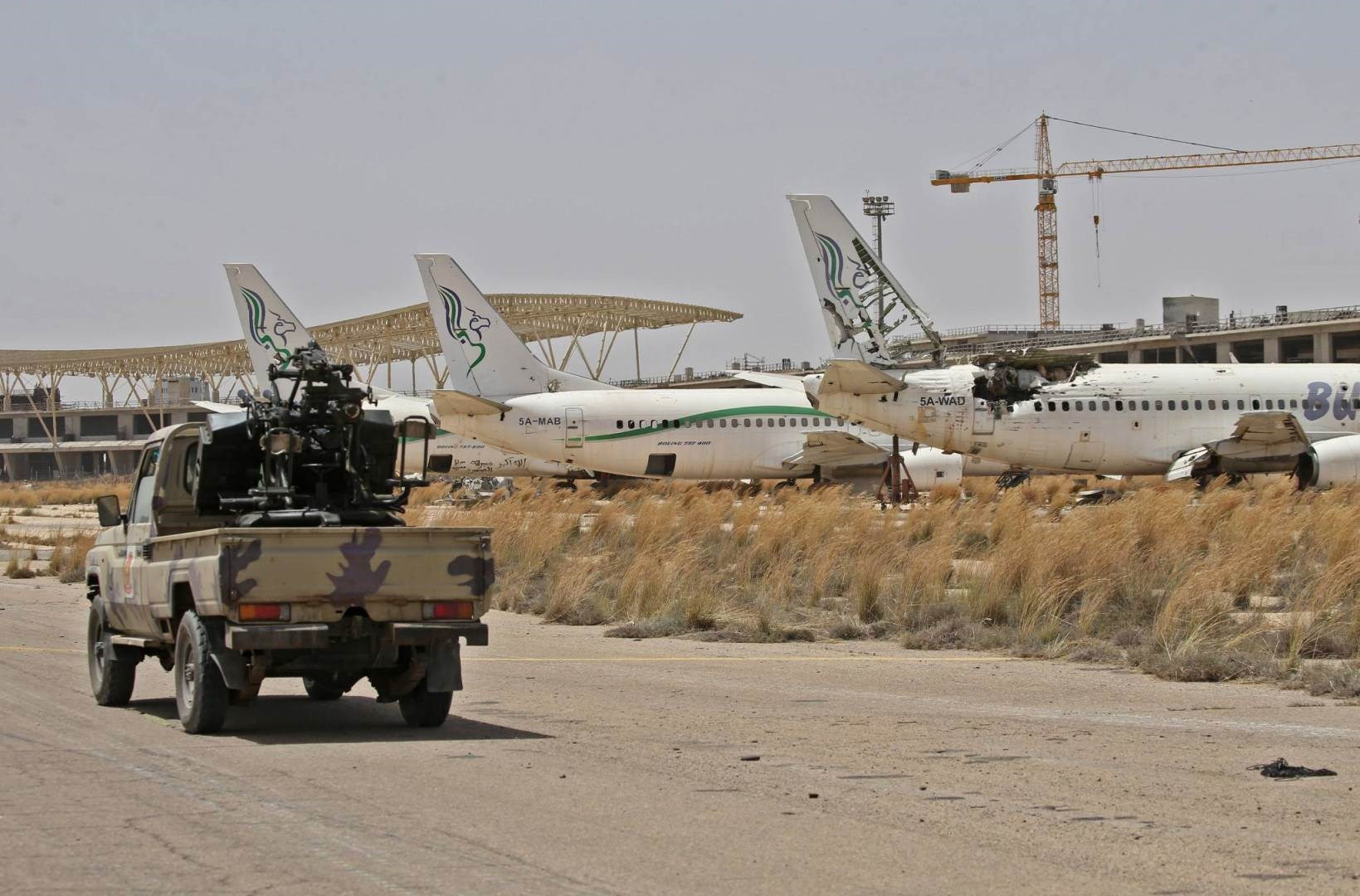 حكومة الوفاق: رصد تحرك رتل مسلح كبير تابع لقوات حفتر