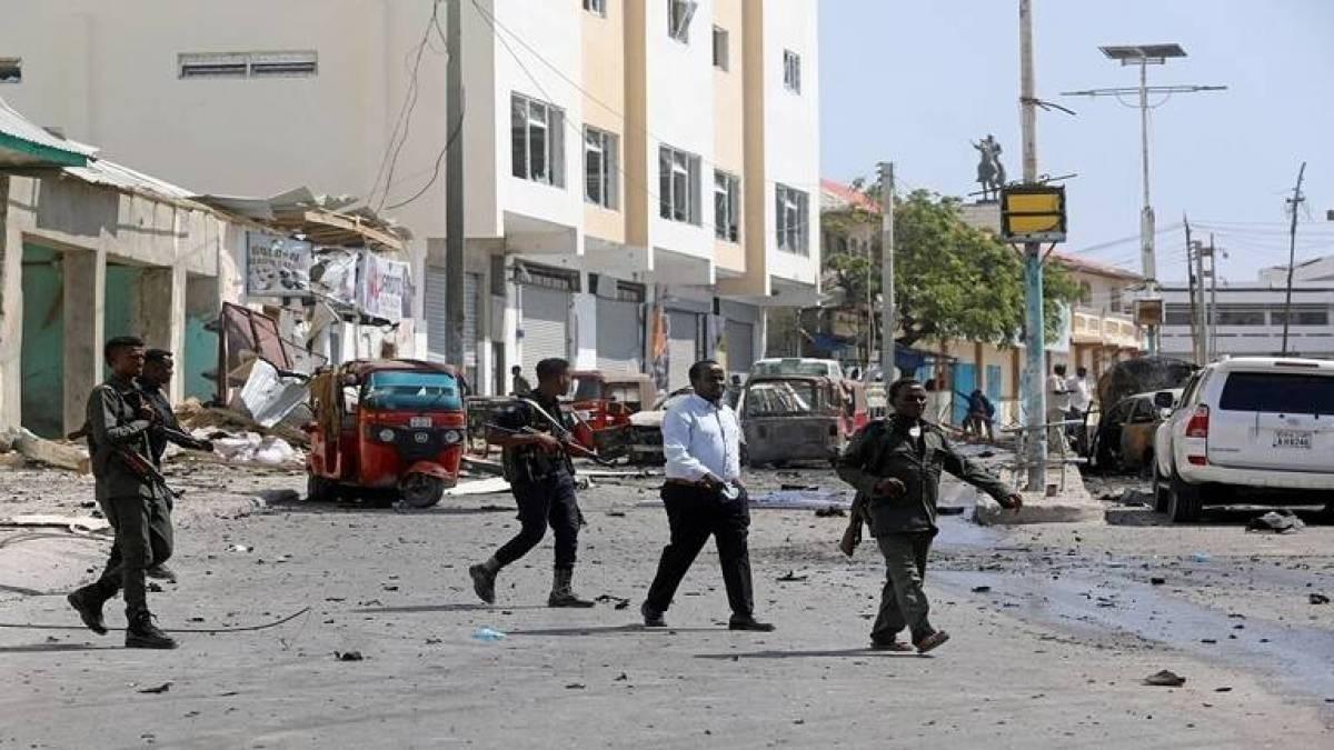 انفجار قرب القصر الرئاسي بالعاصمة الصومالية