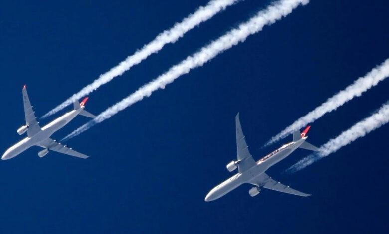 طائرات الركاب تصدر 2.5 في المئة من الانبعاثات الكربونية العالمية.