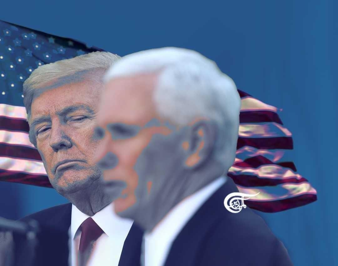 مواجهة  ترامب ونائبه