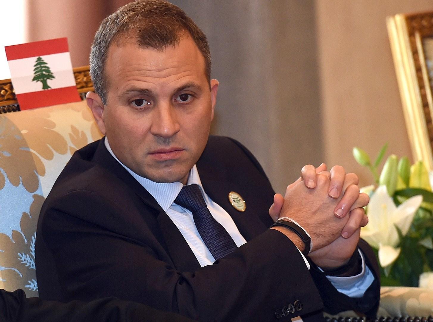 باسيل: نحن مع السلام العادل، والشامل، والدائم، وفقاً لمبادرة الملك عبدالله في بيروت