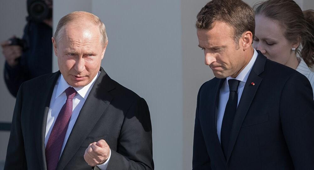 بوتين يبحث مع ماكرون الاجتماع المرتقب بين روسيا وأرمينيا وأذربيجان