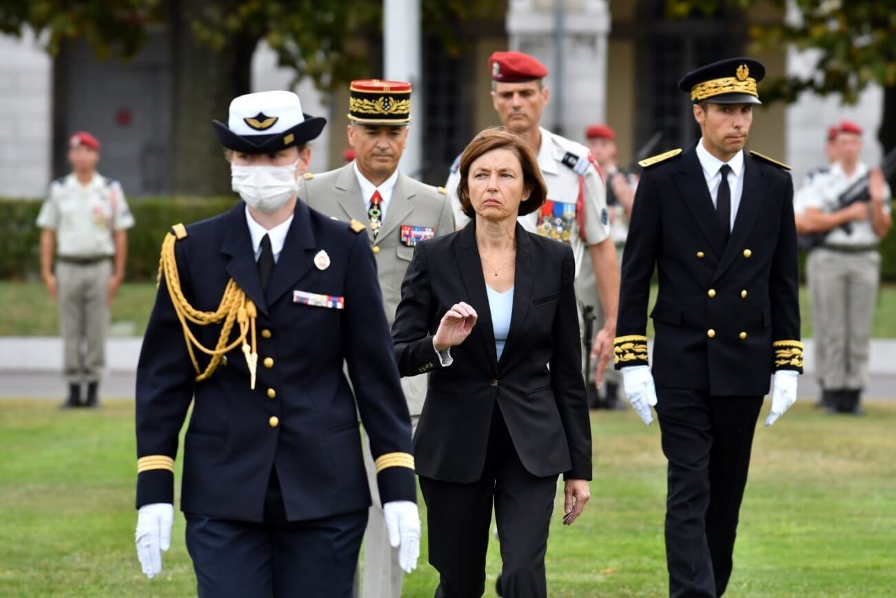 وزيرة الجيوش الفرنسية فلورانس بارلي  (صورة أرشيفية).