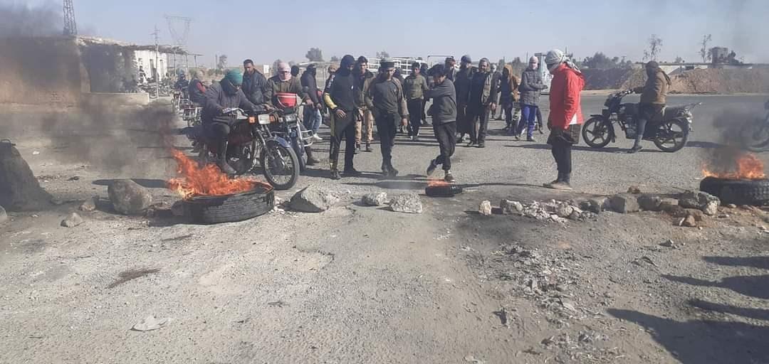 الاغتيالات والمظاهرات تعود إلى ريف دير الزور الخاضع لسيطرة (قسد)