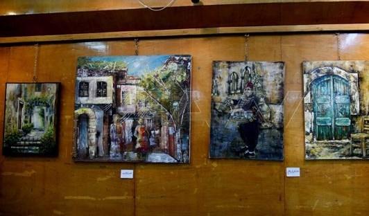 تراث دمشق محور معرض تشكيلي جماعي