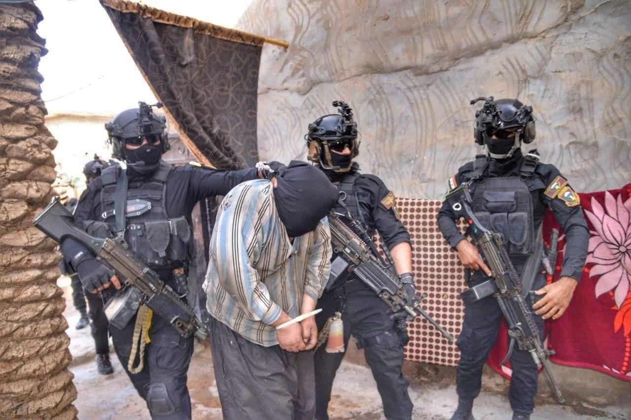 العراق: إلقاء القبض على 5 عناصر إرهابية وتدمير نفق لـ