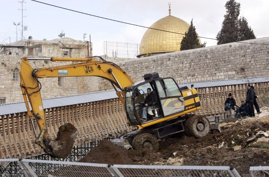 فلسطين تطالب مجلس الأمن بتحمل مسؤولياته تجاه الحفريات