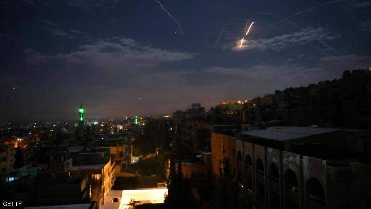 غارات جوية على سوريا (أرشيف)