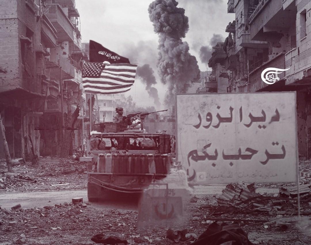 القوات الأميركية أمنت عملية الاستطلاع من مواقعها في العراق للطائرات الإسرائيلية لتنفيذ الغارات على دير الزور والبوكمال شرق سوريا