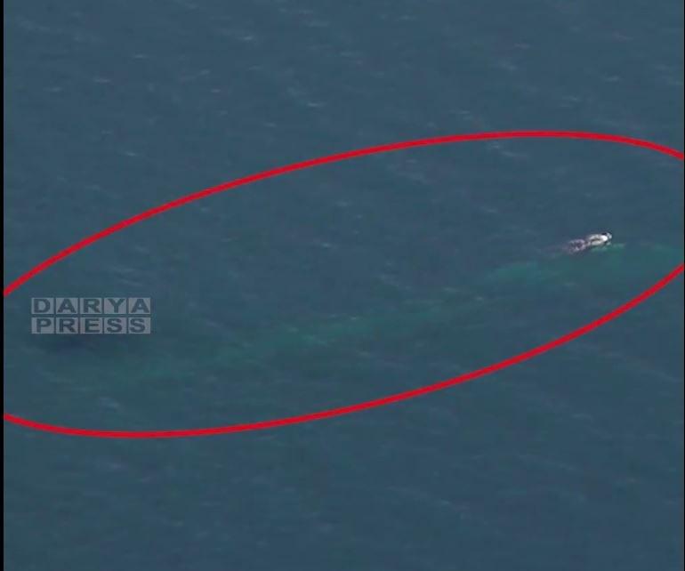 الجيش الإيراني: الغواصة المجهولة قد تم رصدها قبل أن تقترب من منطقة العمليات