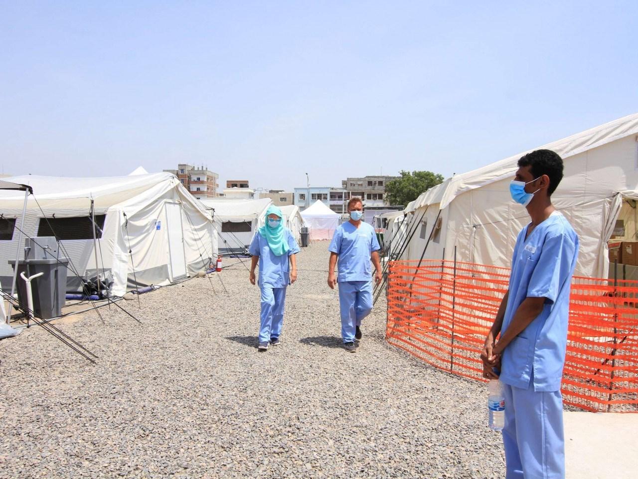 اللجنة الدولية للصليب الأحمر في اليمن (صورة أرشيفية).