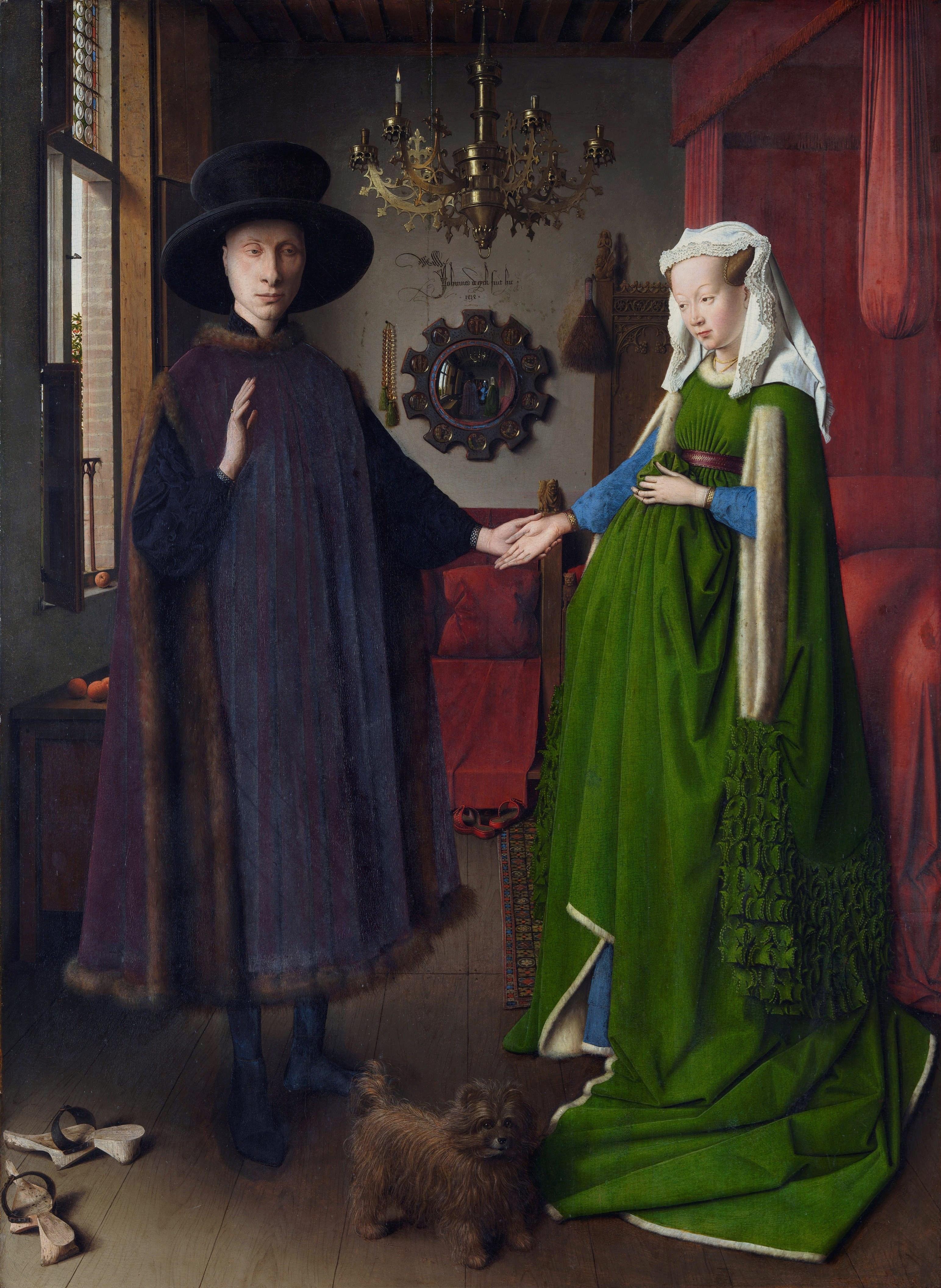 صورة تحت جدار هاو (Jan van Eyck)