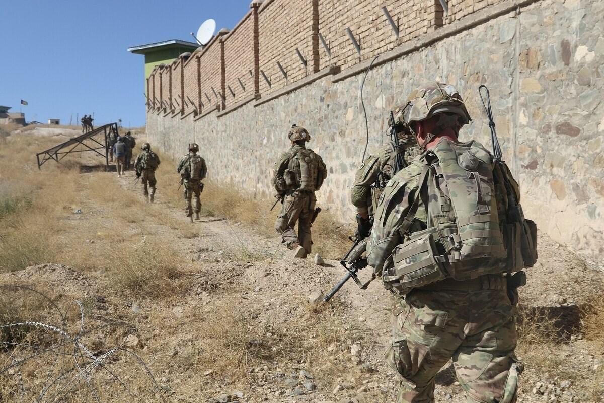 جنود أميركيون جنوب شرق أفغانستان في 17 سبتمبر 2019 (أ ف ب).