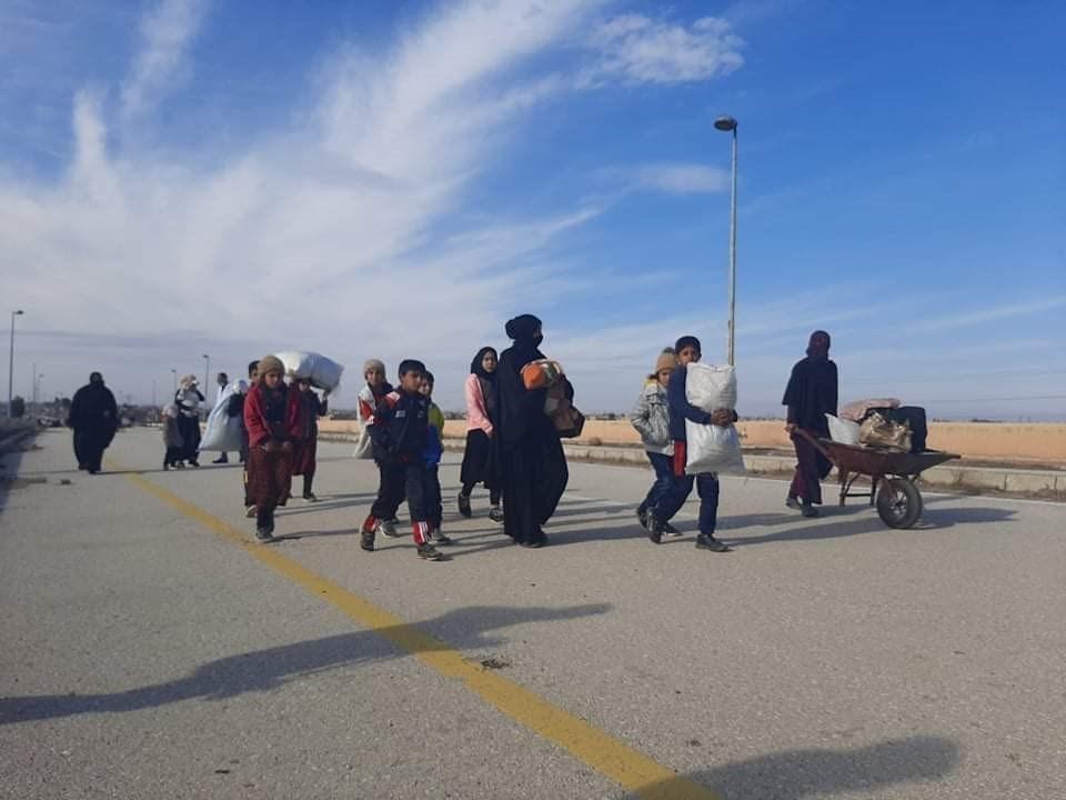 افتتاح معبر الصالحية البري اليوم بعد اغلاق دام قرابة العام.