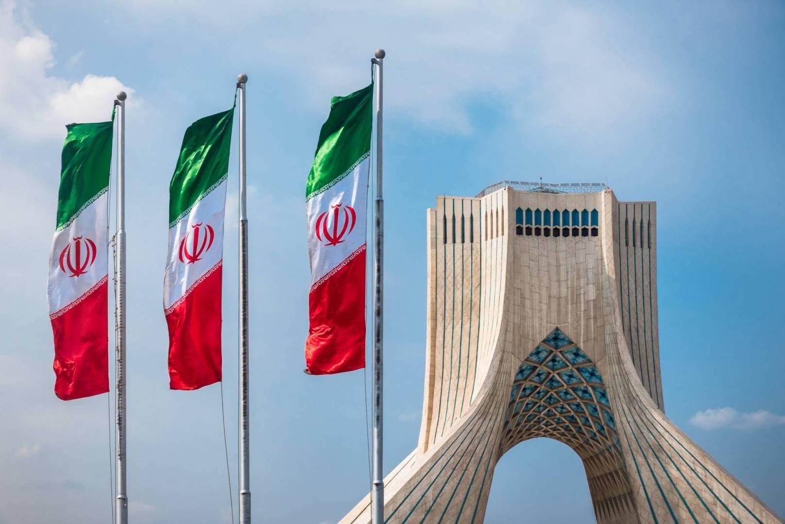 مبنى وزارة الخارجية الإيرانية في طهران.