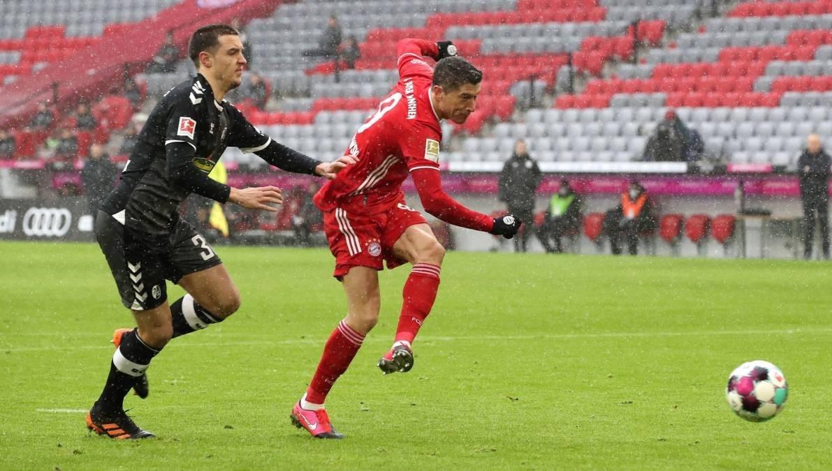 فاز بايرن ميونيخ على فرايبورغ 2-1