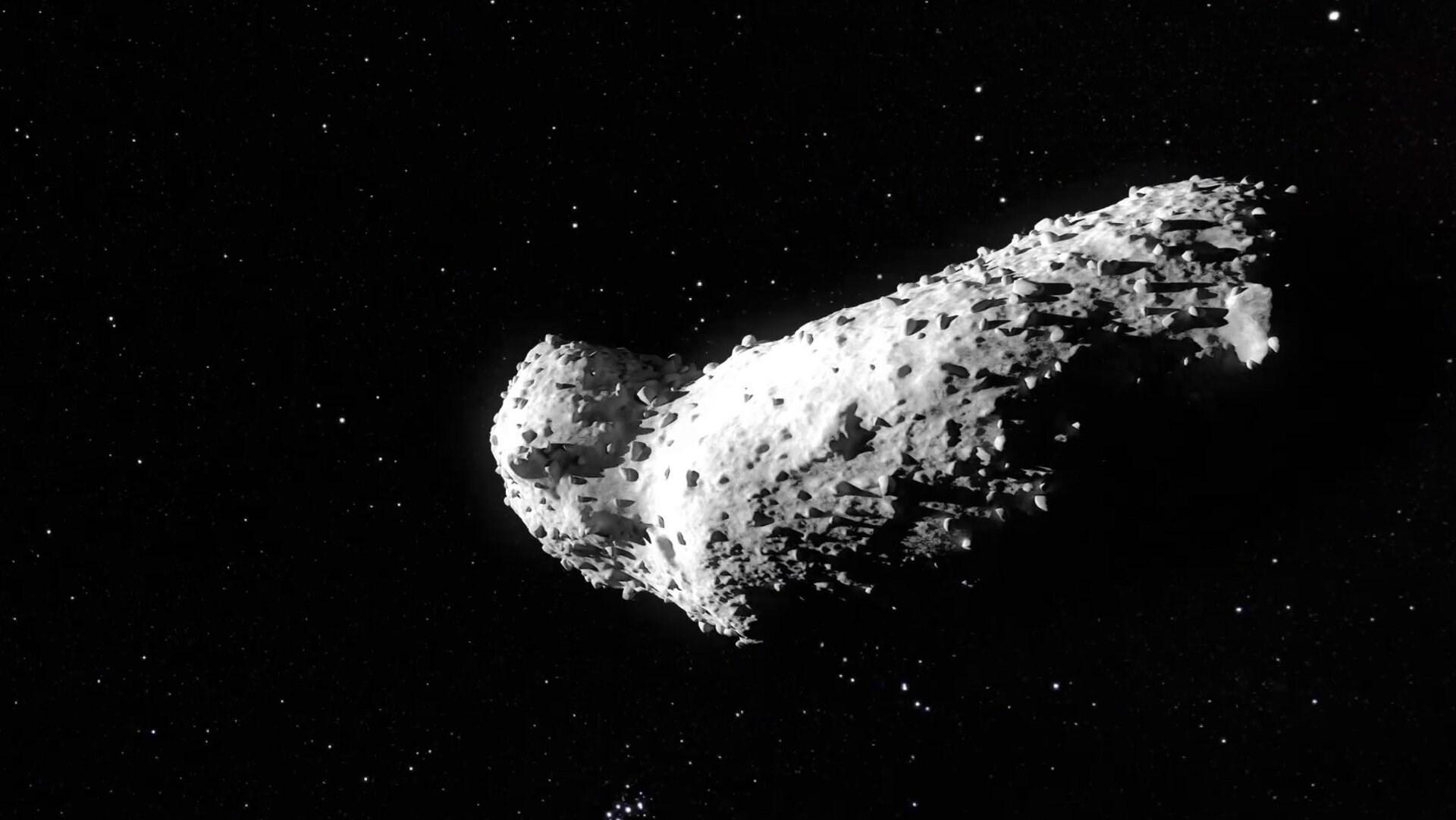 قطر النيزك نحو 256 متراً ومن المقرر أن يمر بالقرب من الأرض