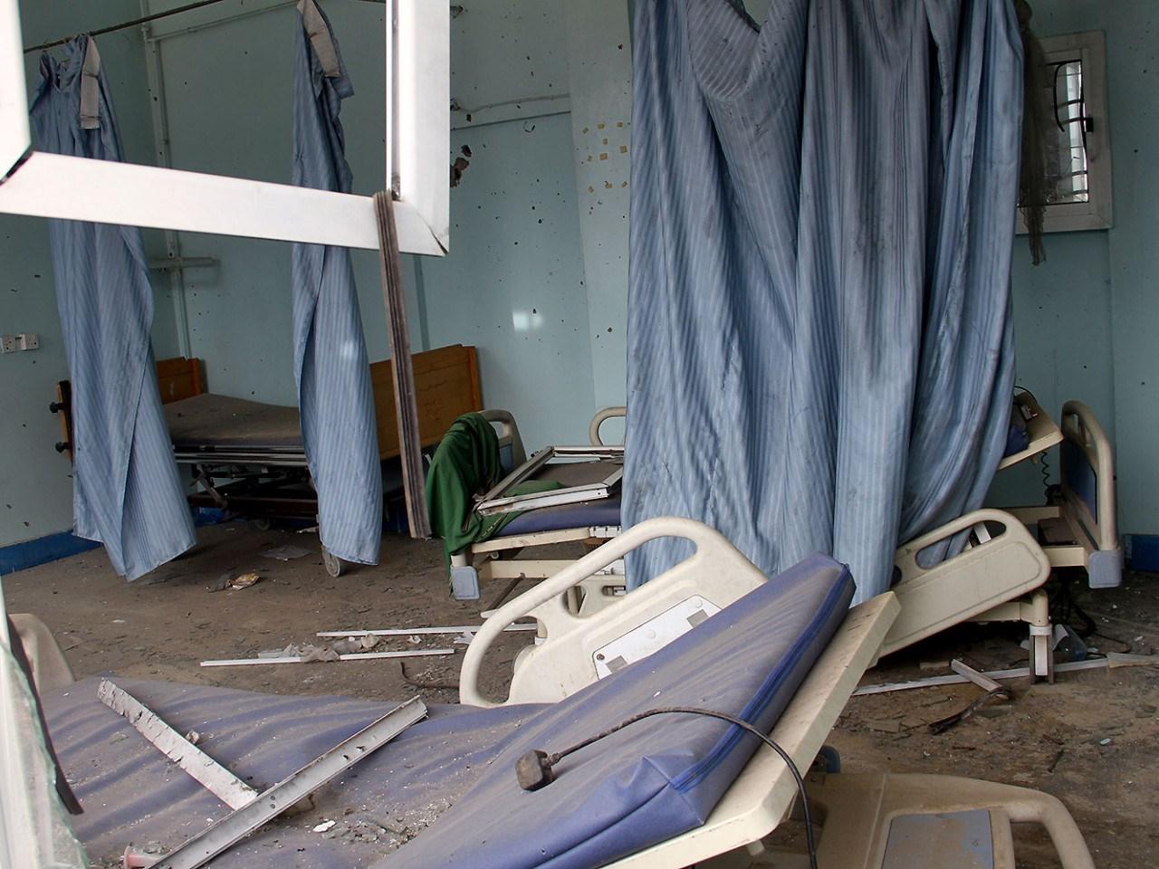 نصف المنشآت الصحية قد تضررت إما جزئياً أو دمرت بالكامل بسبب الحرب على اليمن