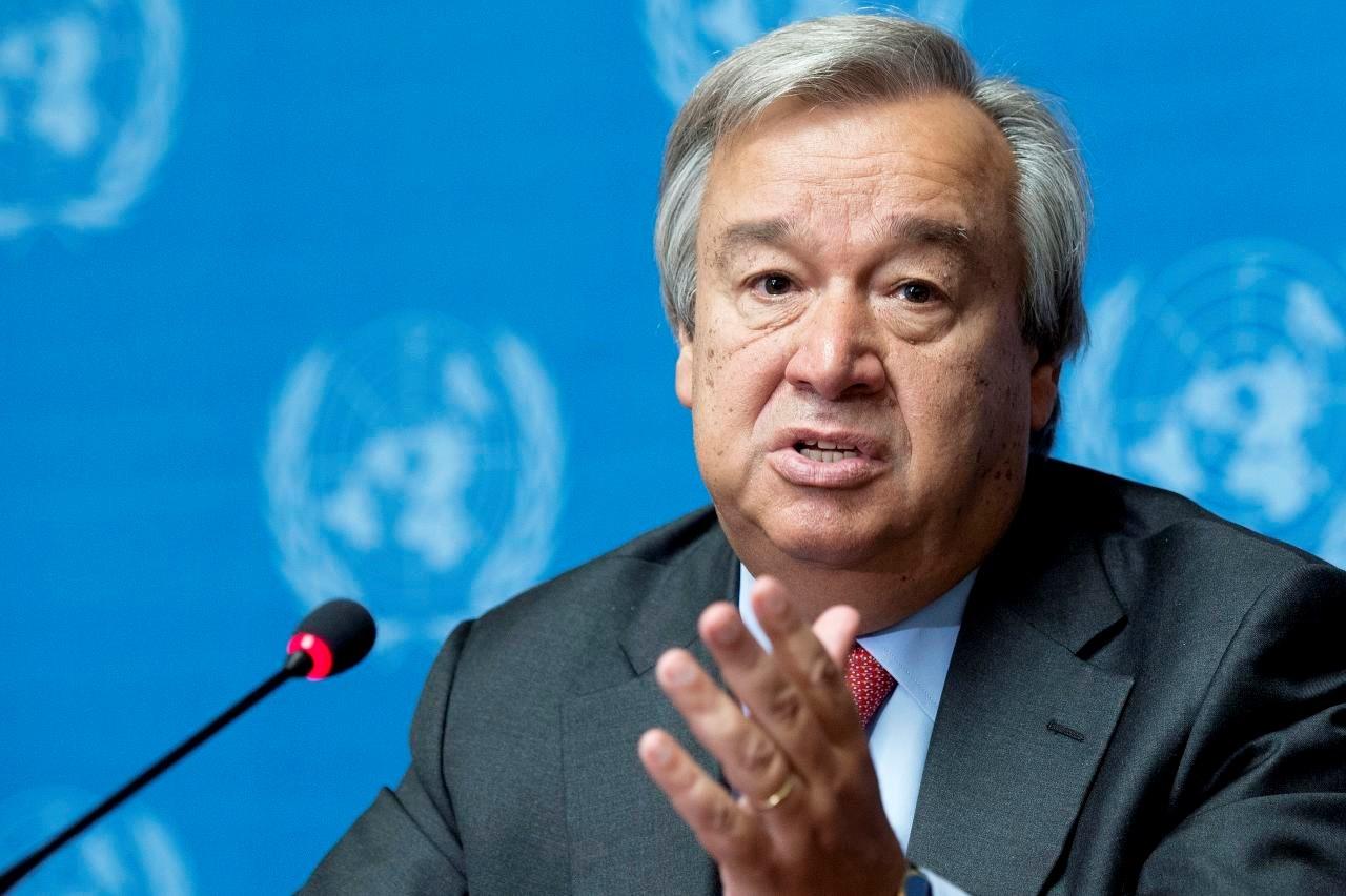 الأمين العام للأمم المتحدة أنطونيو غوتيريش (صورة أرشيفية).