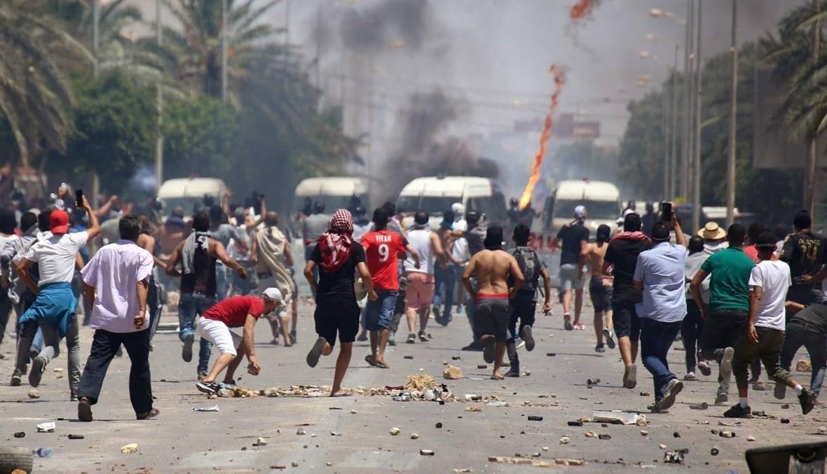 تجدد الاحتجاجات المطلبية في تونس