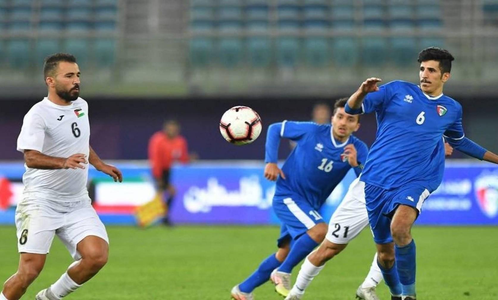 الفوز الأول لمنتخب فلسطين على الكويت