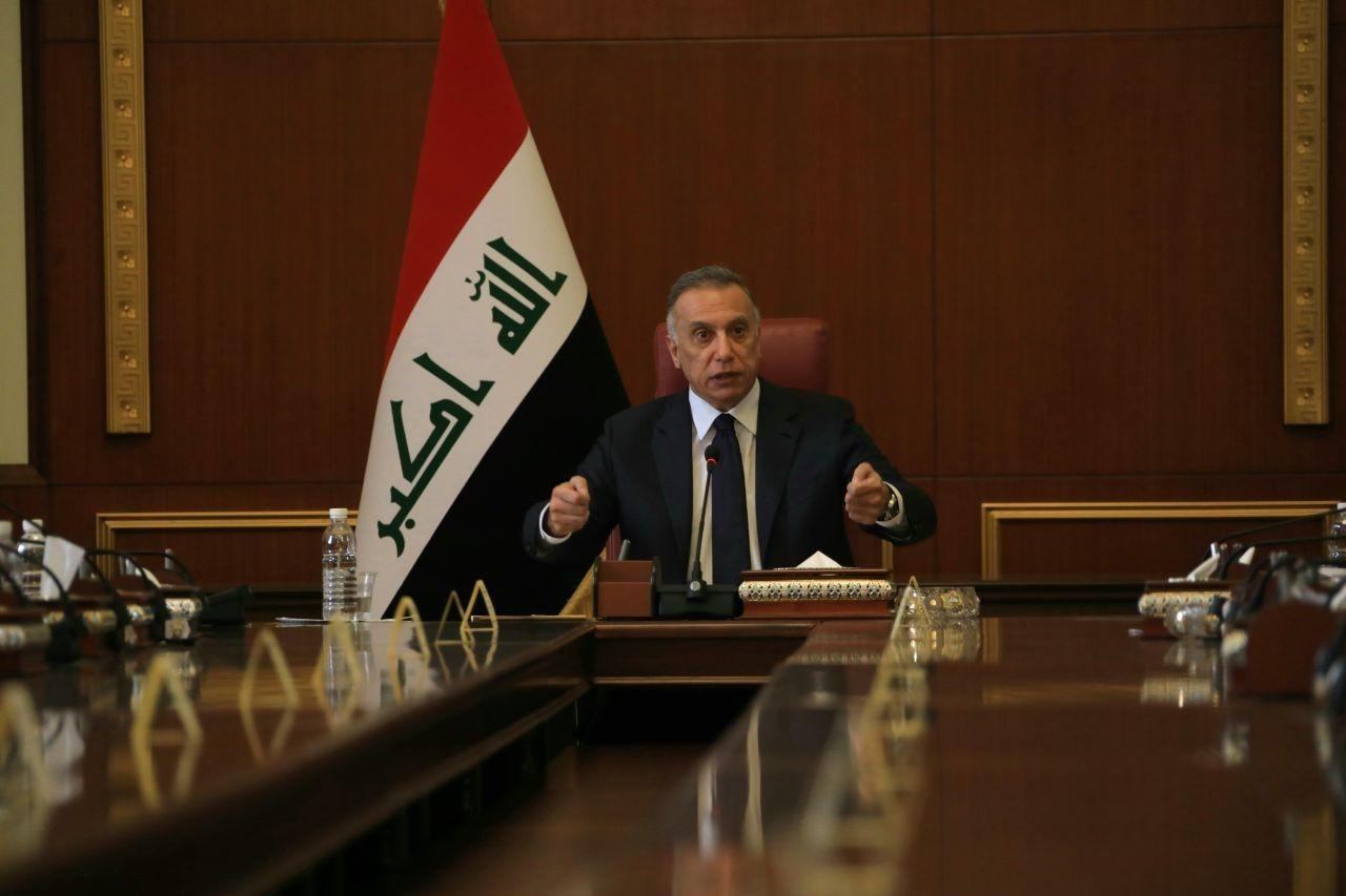الكاظمي مترأساً جلسة مجلس الوزراء العراقي بحضور رئيس وأعضاء المفوضية العليا المستقلة للإنتخابات