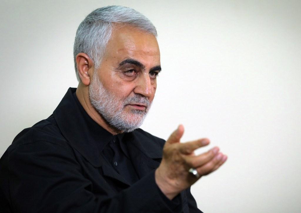 الشهيد سليماني في طهران - 1 أكتوبر 2019