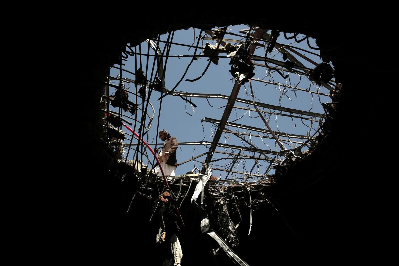 القباطي: هذا الاستهداف والتصعيد والقصف للمناطق السكنية والاهداف المدنية مؤشر على استهتار التحالف