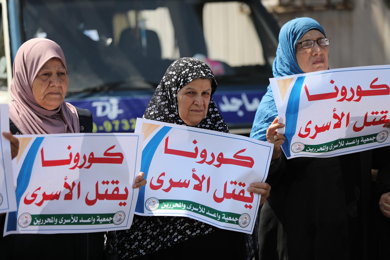 ارتفعت أعداد الأسرى الفلسطينيين المصابين بالفيروس إلى ما يقرب من 270 أسيراً