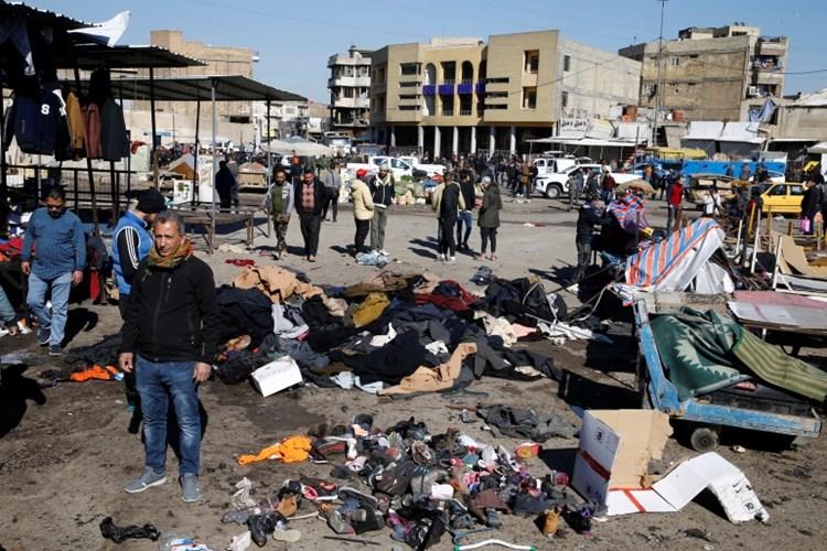 سقوط 32 شهيداً و 110 جرحى في تفجيري بغداد