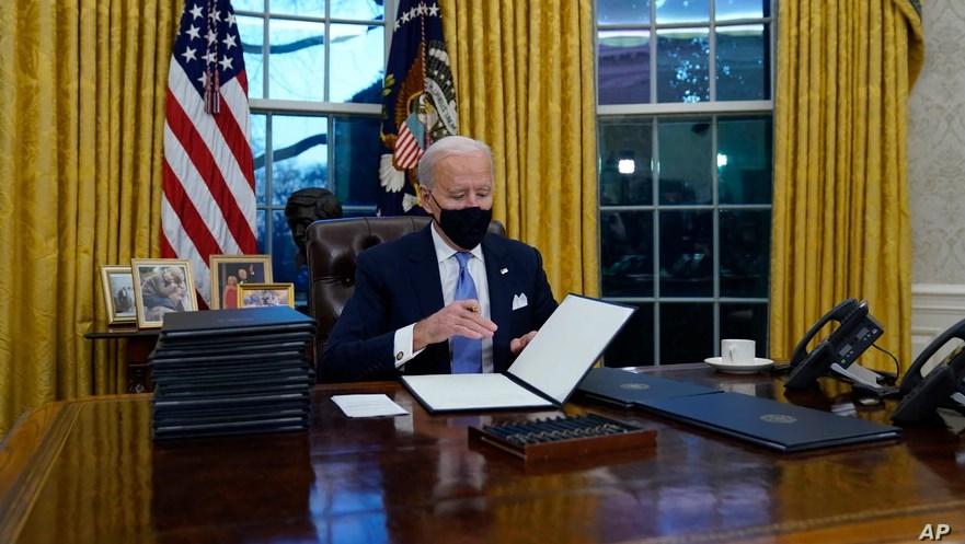 الرئيس الأميركي جو بايدن (أسوشيتد برس)