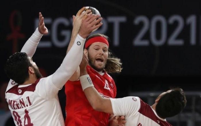 فازت الدنمارك على قطر